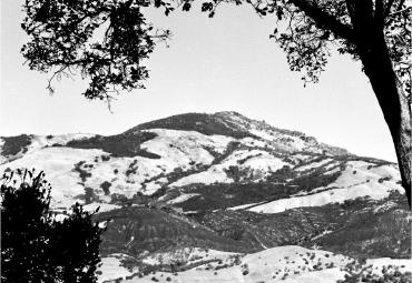 Photograph of Mt. Diablo by Bill Hoskins