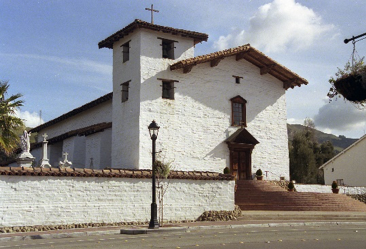 The restored Mission San Jose Church